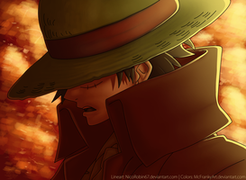 CAPTAIN Monkey D. Luffy by McFrankyArt