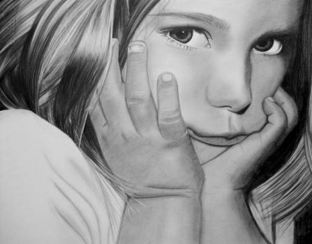 Young girl 2 by AngelasPortraits