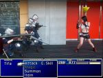 Tifa Vs Soldiers by rocknroler