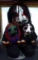 A stuffed toy of SLIPKNOT by Sado036