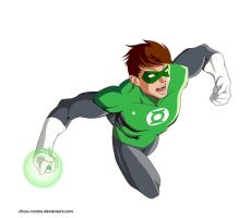 Green Lantern by chou-roninx