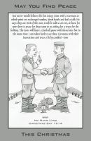 Christmas Truce Card by saepenon