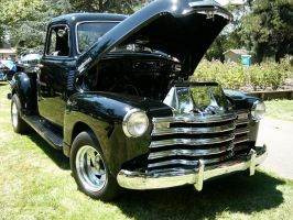 Chevrolet 3100 Pickup Truck Man by RoadTripDog