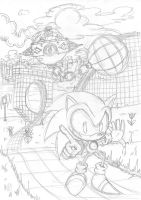 Ye old Sonic1 by EUAN-THE-ECHIDHOG