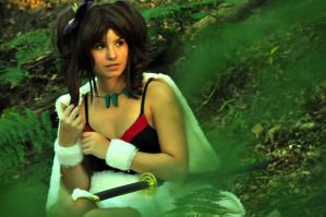 Ayame in the forest - InuYasha by K-i-R-a-R-a