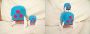 Metroid Cube Plushies by JeffSproul
