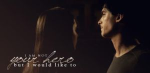 Elena Gilbert and Damon Salvatore Signature by McOlussska