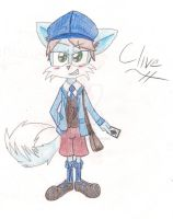 Clive Dove by Goldenfoxlily