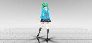 MMD DT Deep Sky by frede15