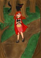 Little Red Riding Hood by missbunniswan