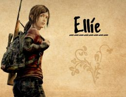The Last Of Us - Ellie by WaveSeeker90