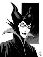Maleficent by ReillyBrown