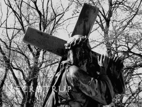 Carrying cross by Necrotrup