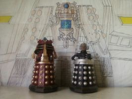 Doctor Who - Emperor Dalek Backdrop [4 of 6] by DoctorWhoOne