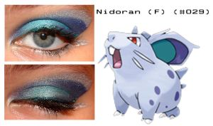 Pokemakeup 029 Nidoran F by nazzara