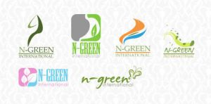 N-green logo by teddylife