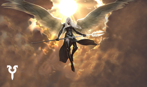 Avacyn, Angel of Hope Wallpaper by Dericwadleigh
