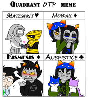 Quadrant OTP Meme by darlimondoll