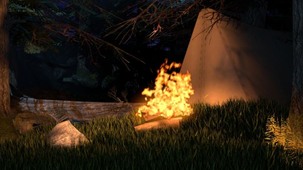[SFM] Scene Build - Camping by PeeriePeppermint