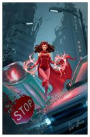 Scarlet Witch by Dmytro-Shevchenko