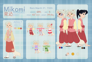 MIKOMI Character Reference and Biography by NattiKay