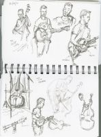 Musicians - The Creek Cats 001 by hesir