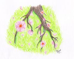 A Blooming Branch by Horu-chan