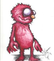 Elmo by Papierschnitt