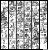 Legacy of Kain Storyboard ver1 by sinDRAWS