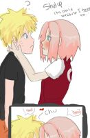 ONLY BECAUSE ITS NARUSAKU WEEK by XNessNessX