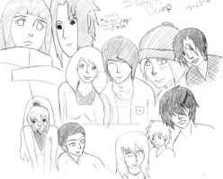 Another Sketch Dump by Hinata6Uchiha