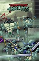 TMNT 2012 by Kyle-Fast