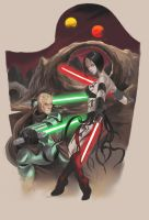 jedi vs sith 2 by darthdifa
