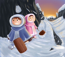 Ice Climbers by LemonYo