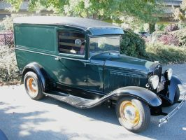 Ford panel truck - 1931 model by RoadTripDog