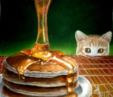 pancakes,can i have one? please !!! by andresarte