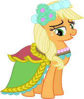 Applejack - Darn Good Lookin' Bridesmaid by Firestorm-CAN