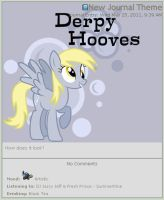 Free Derpy Hooves Journal Skin by RoyGBiv-MLP