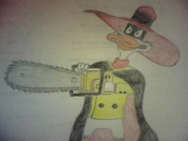 Negaduck With Chainsaw by NegaDuck13