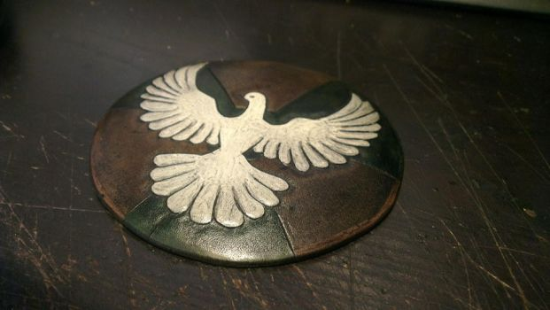 Medallion for untitled movie project by davevdveer