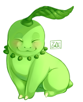 Chikorita by Electrical-Socket