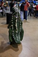 Back of Little Godzilla cosplay at ACEN 2014 by Phen