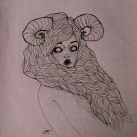 as an aries by XIIIDC