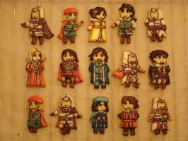 Assassins Cookies by Ninisu