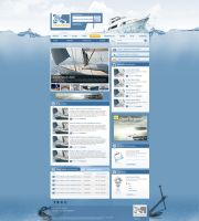 Yachting.hu portal 1st version by arkantal
