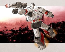 Mighty Megatron by Iantoy