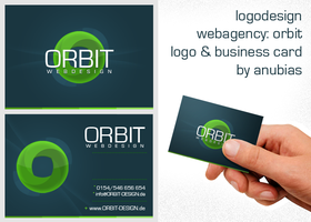 ORBIT Buisness Card by Anubias