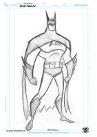 Batman DC characters sketch by celaoxxx