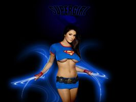 supergirl by ashworkzz
