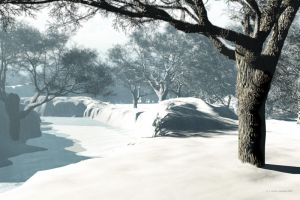 Waters Edge 2 Snow Version by 2753Productions